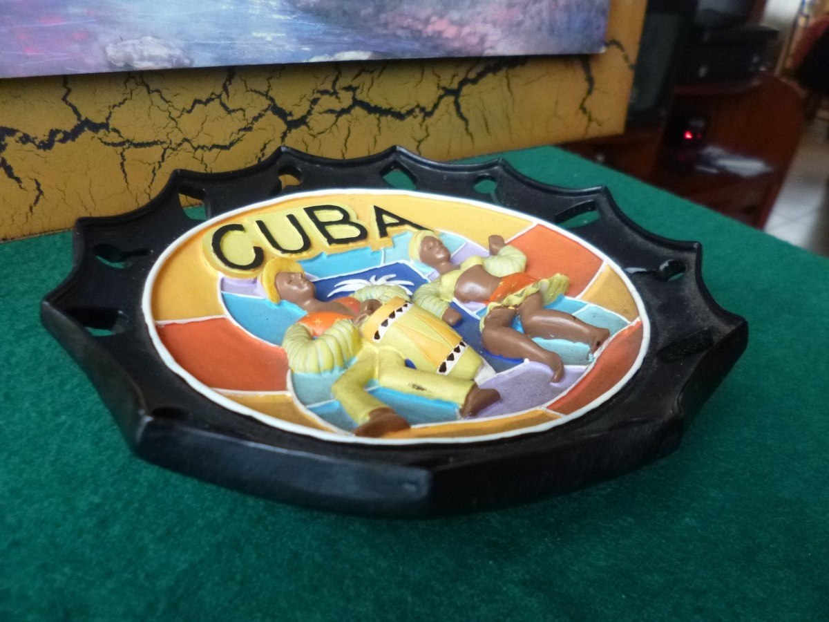 Cuba Made Ashtray