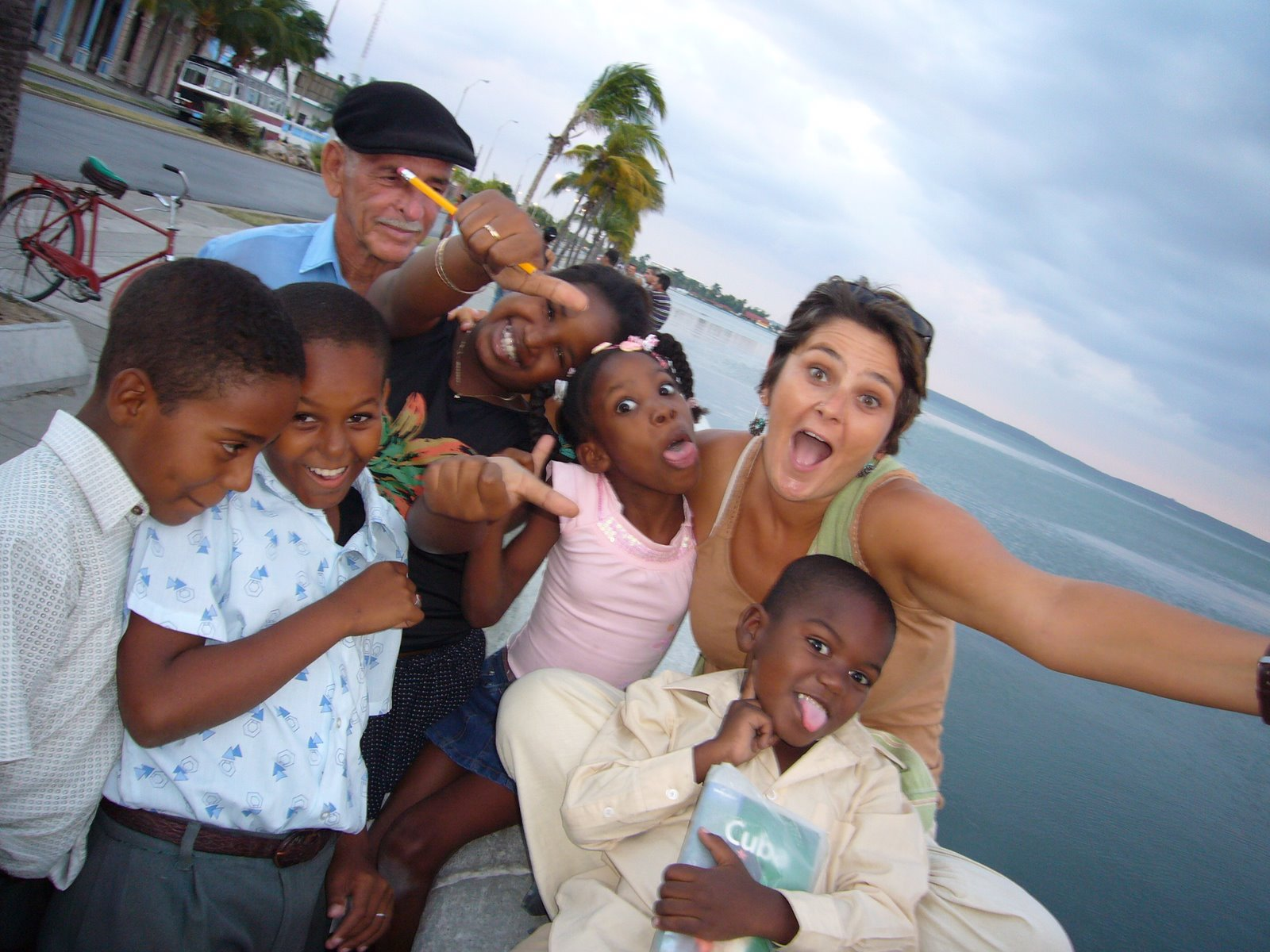 Cuban Kids Photos Tourists Cuba