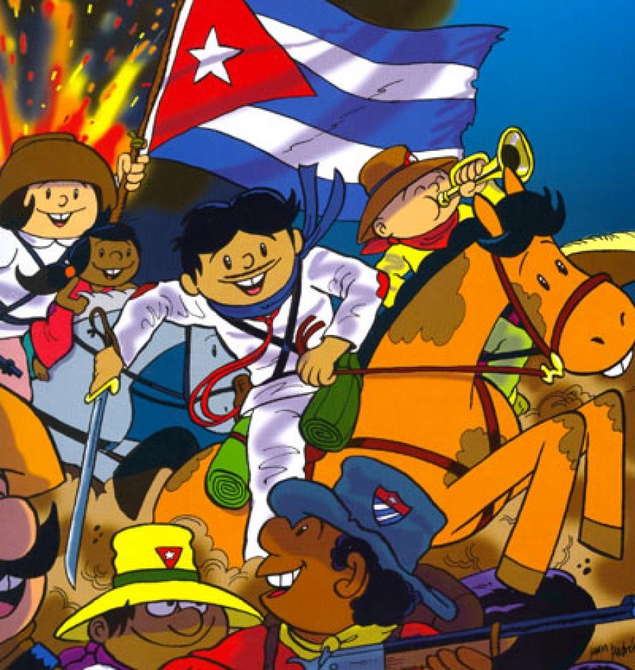 Cuban Cartoon Characters El Pidio Valdes Cartoons