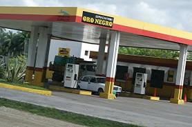Oro Negro Gas Station Cuba