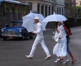 Santeros in Cuba