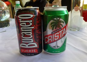 bucanero cristal Beer Cuba Havanatur